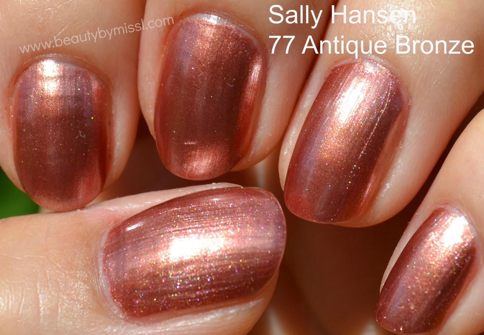 sally hansen diamond strength 77 antique bronze