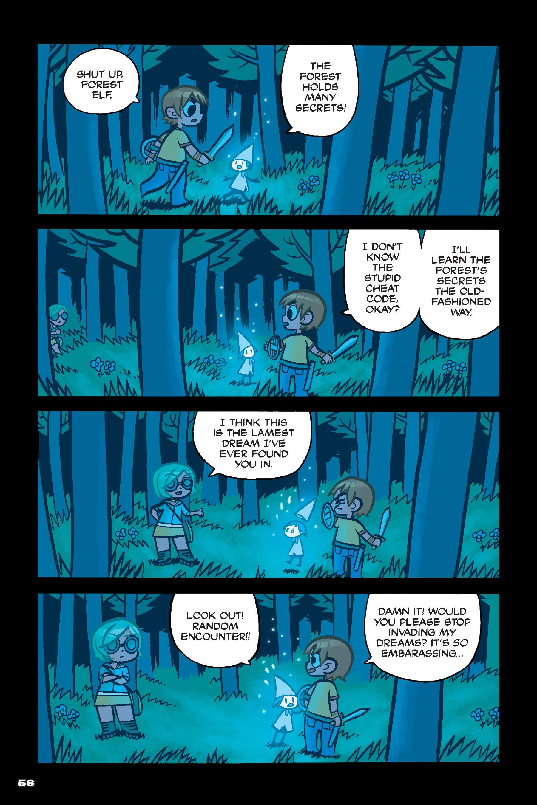 Read online Scott Pilgrim comic -  Issue #4 - 55