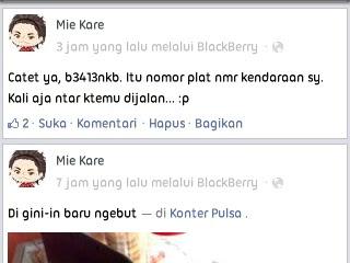 status facebok gak penting