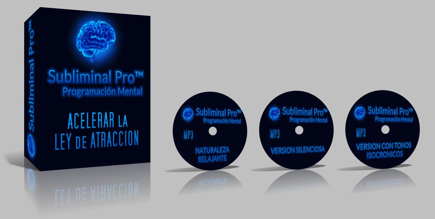 Acelerar La Ley De Atracción - Mensajes Subliminales - Subliminal Pro™