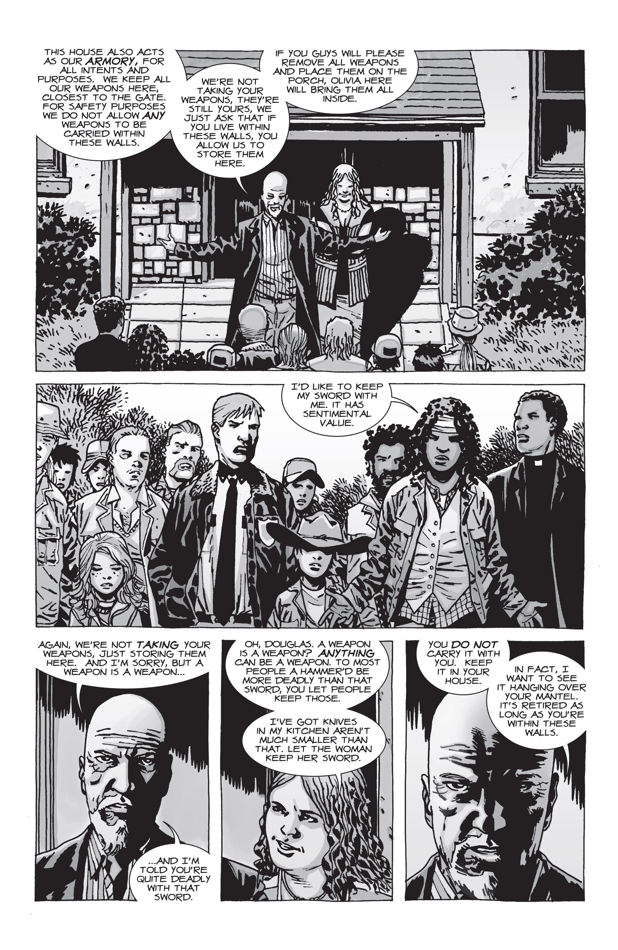The Walking Dead Issue #71 Page 8