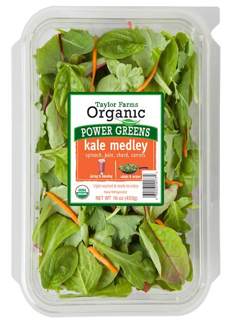 Taylor Farms Organic Kale Medley