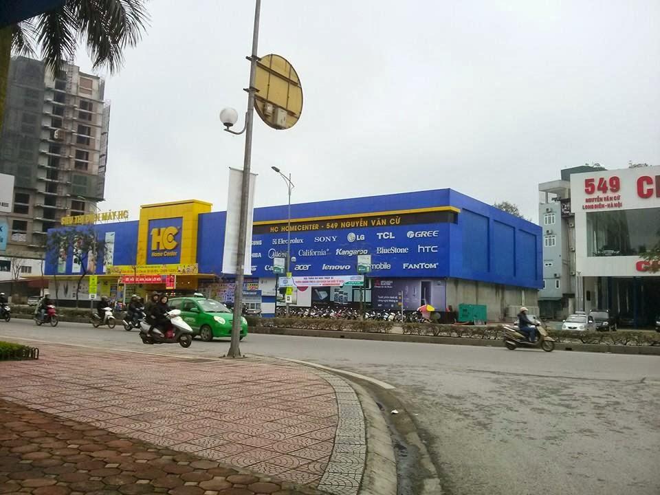 Đường vào dự án,từ đường Nguyễn Văn Cừ