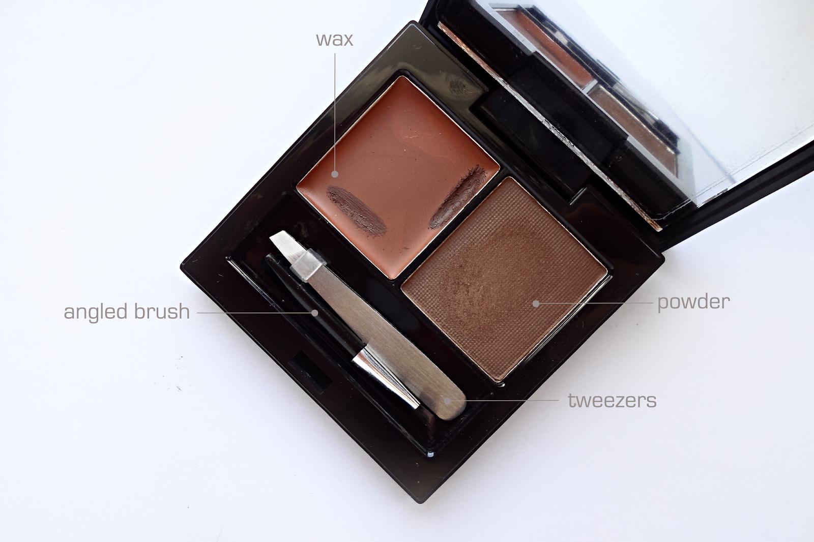 models prefer essential brow kit, brow powder, wax, models prefer, priceline, review, twoplicates, australia