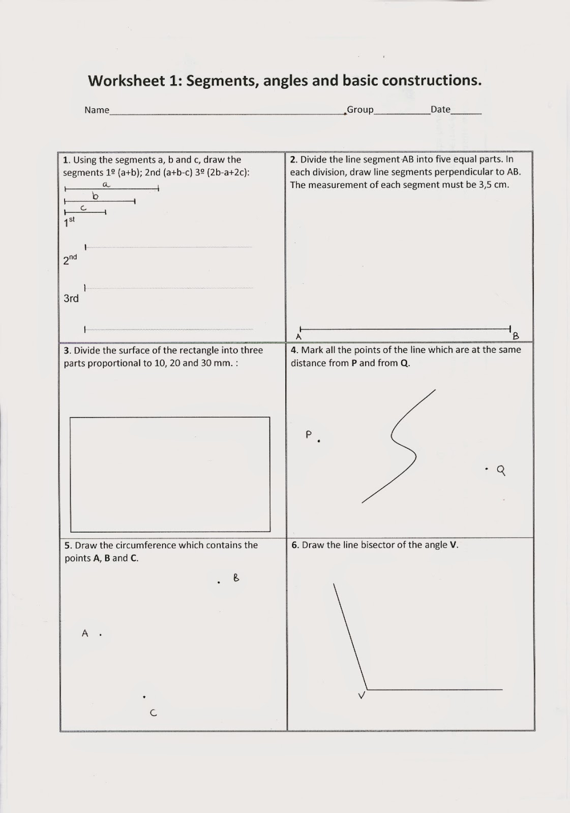 visual arts blog geometry review for 3rd eso students. Black Bedroom Furniture Sets. Home Design Ideas