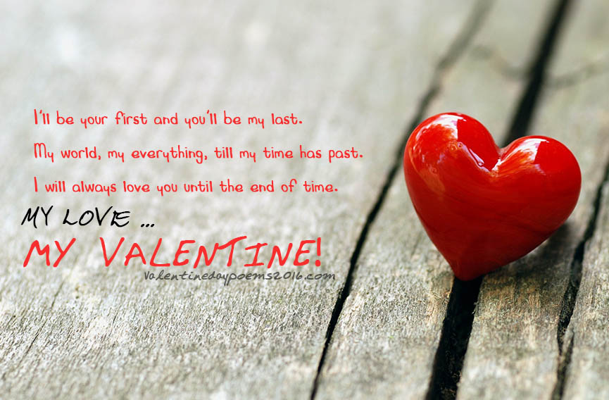 Happy Valentine's Day 2016 Greetings Ecards Poems