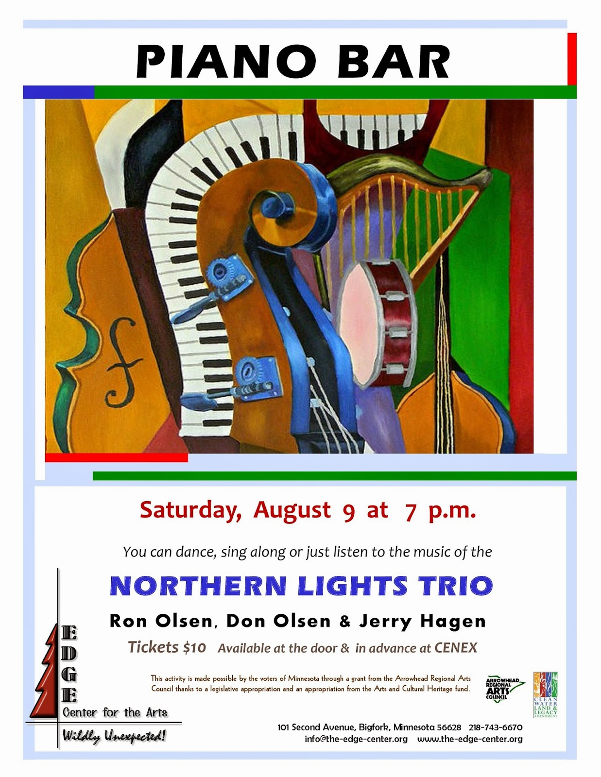 A Twist in the Show From the Northern Lights Trio in Bigfork - Edge Center for the Arts