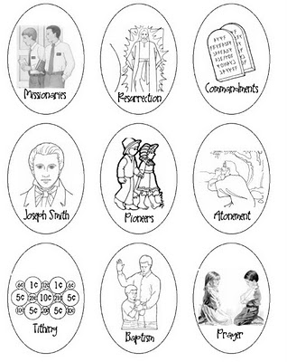 Coloring Pages on Little Tipsy  10 Lds Conference Activities For Kids