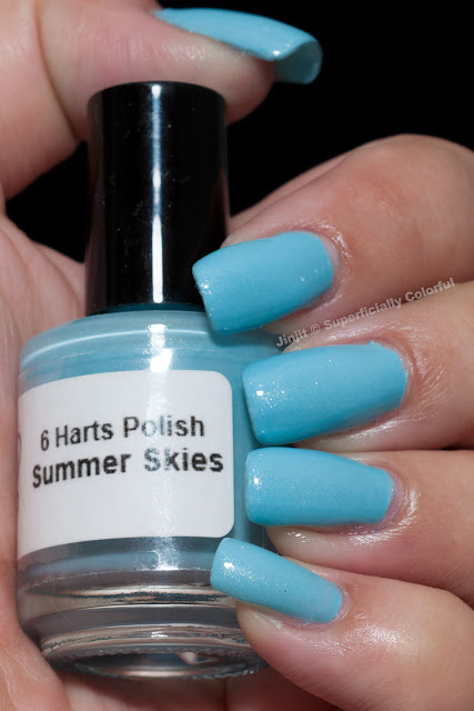 6 Harts Polish Summer Skies