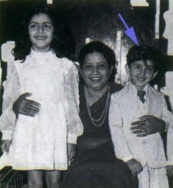 Hrithik Roshan In His childhood