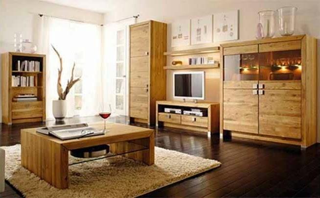 Wood Furniture for Living Room Elegant Design ~ Home Design Interior