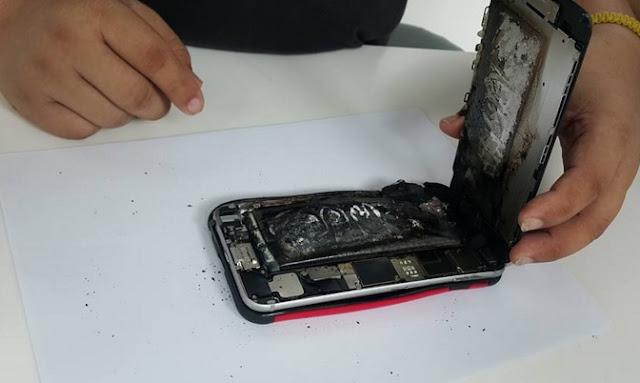 iPhone 6 Plus Meletup Dalam Poket