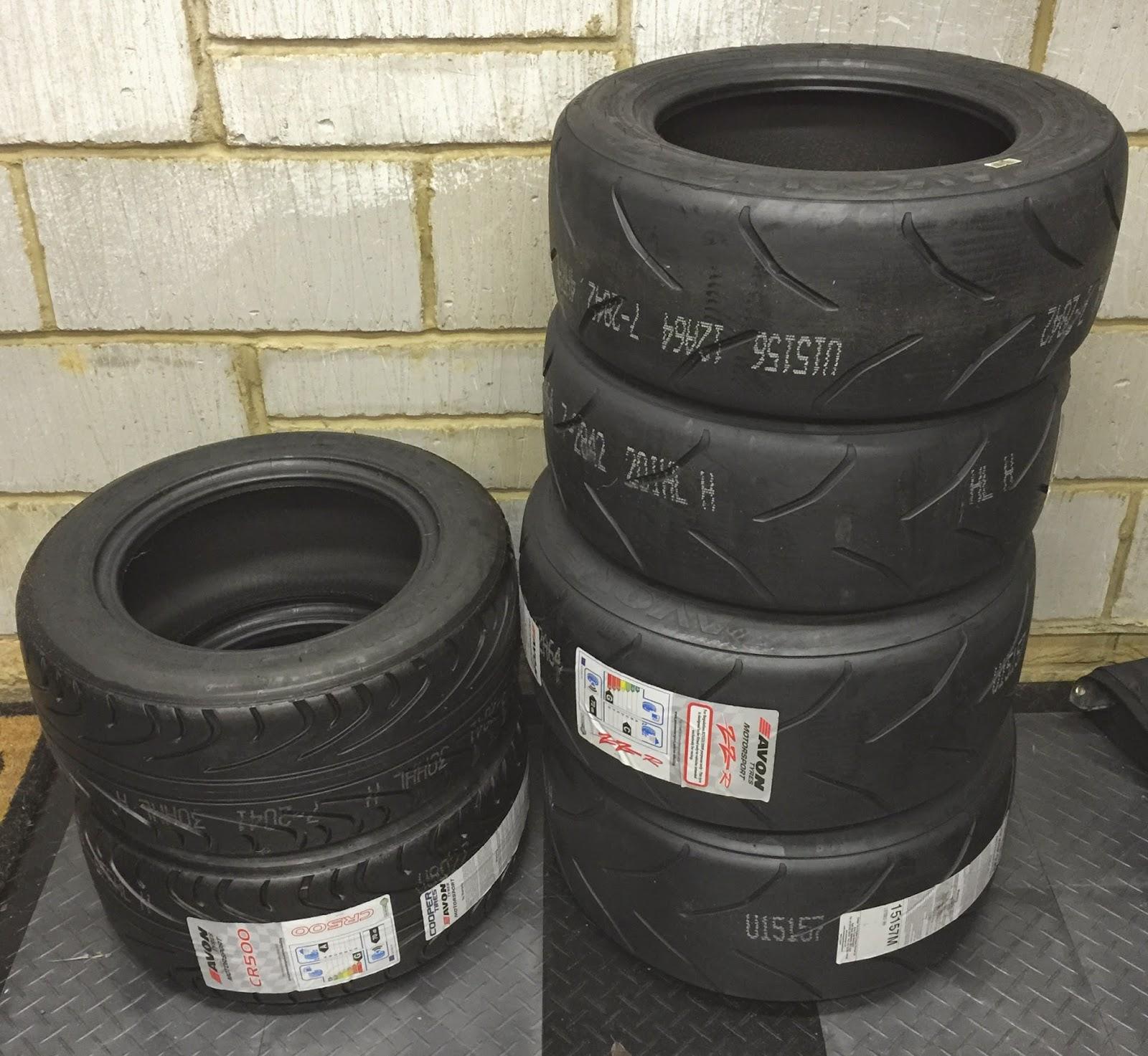 Caterham R 500: 2018 Caterham Roadsport Racing Blog: More Tyre And New