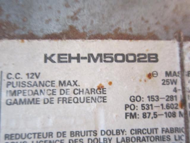 pioneer kehm 5002b
