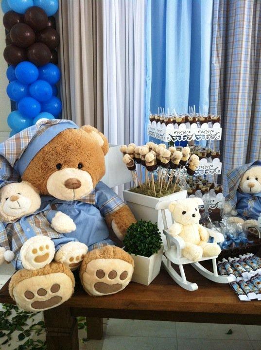 aniversário tema urso