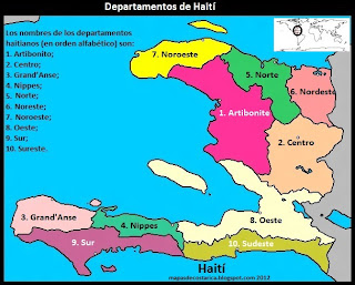 Haití por departamentos
