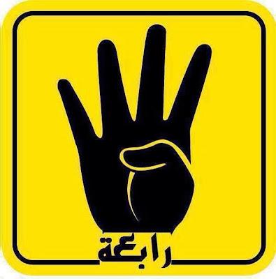 Rabaah | R4BIA | Simbol empat jari