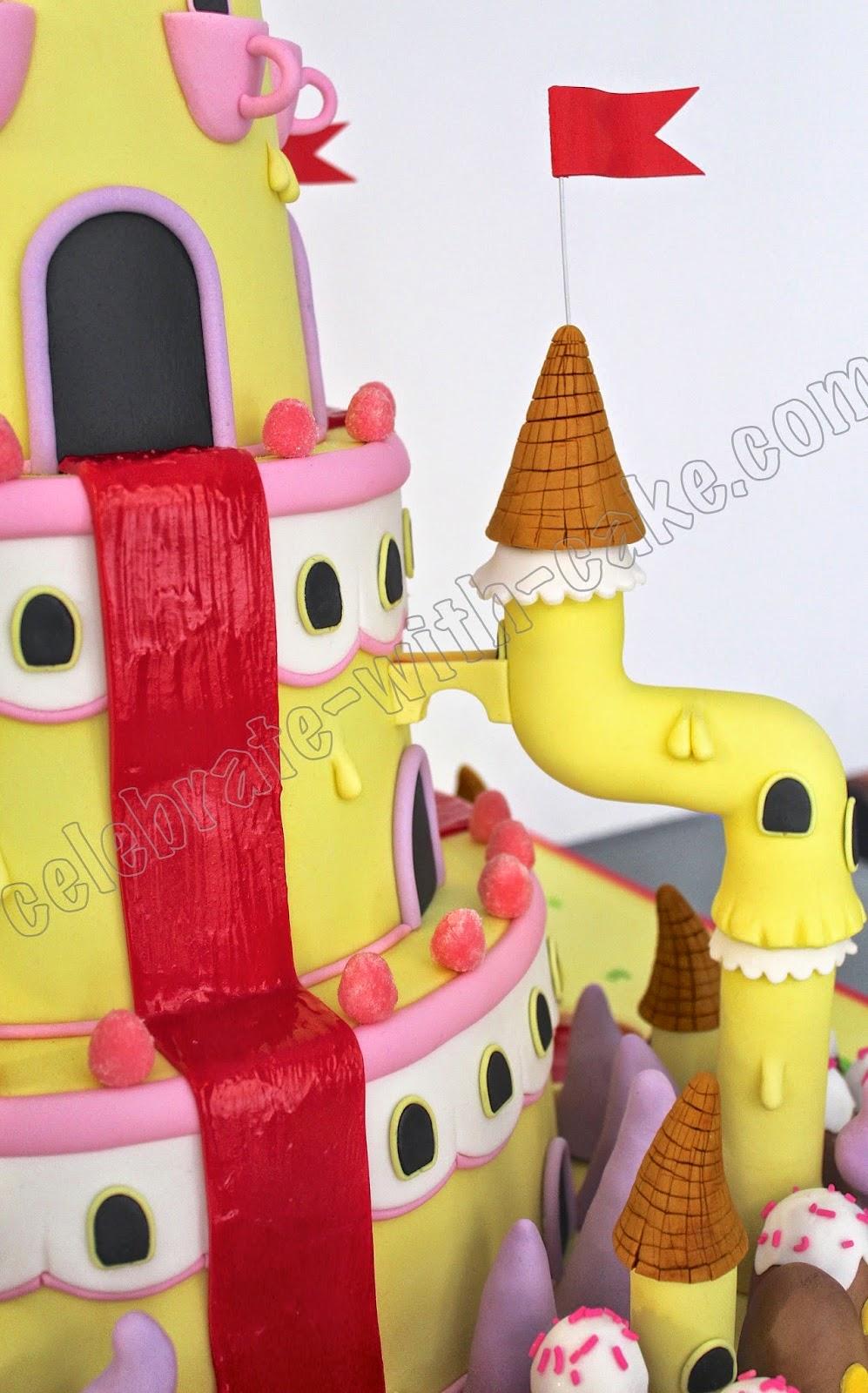 Celebrate with Cake!: Bubble Gum Princess Castle - Adventure Time