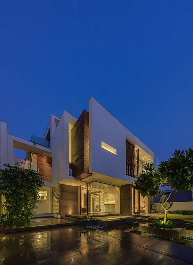 World of architecture asian dream home with perfect for Architecture design for home in delhi