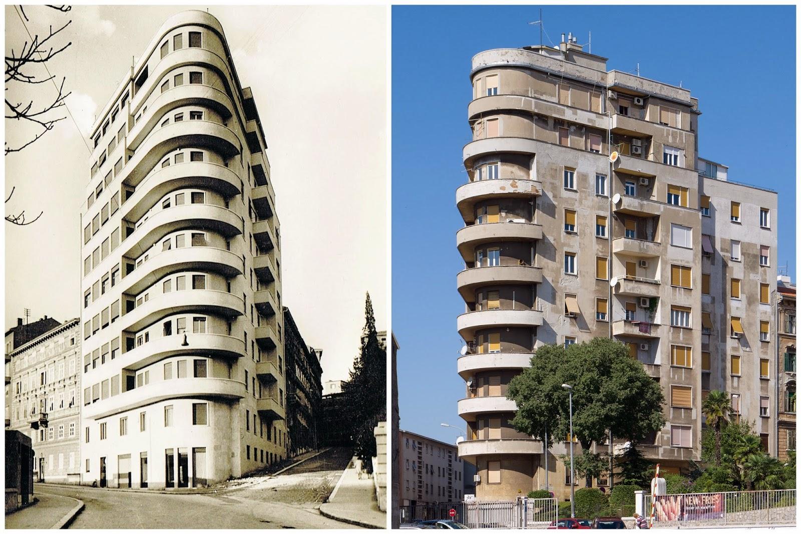 Tra fiume e trieste il grattacielo piccolo di fiume for Architettura fascista in italia