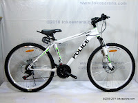 A26 Inch Element Police 911 Edmonton City Mountain Bike