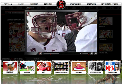 Digital Hoops Blast  Stanford Football hits you with Highlights