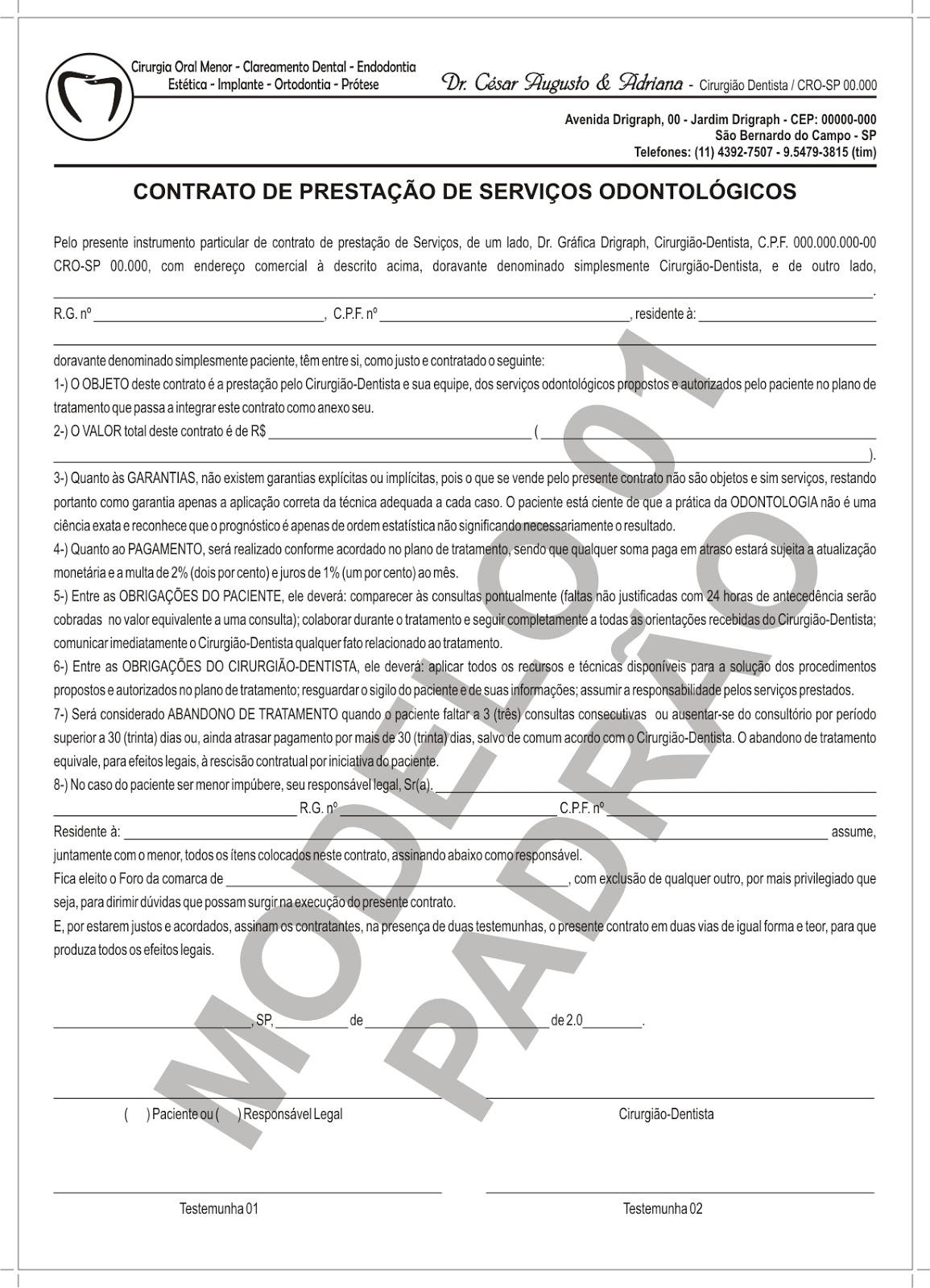 Contratos modelos de contratos for Modelo contrato por horas