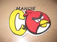 imán angry birds rojo y amarillo