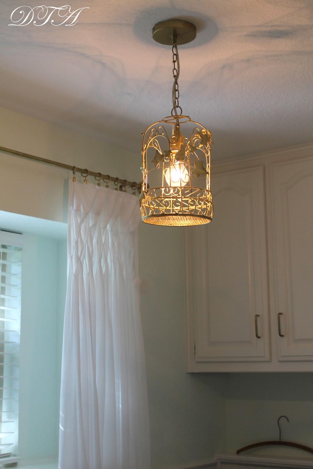 Decor to adore a birdcage lantern light fixture for the for Decor to adore