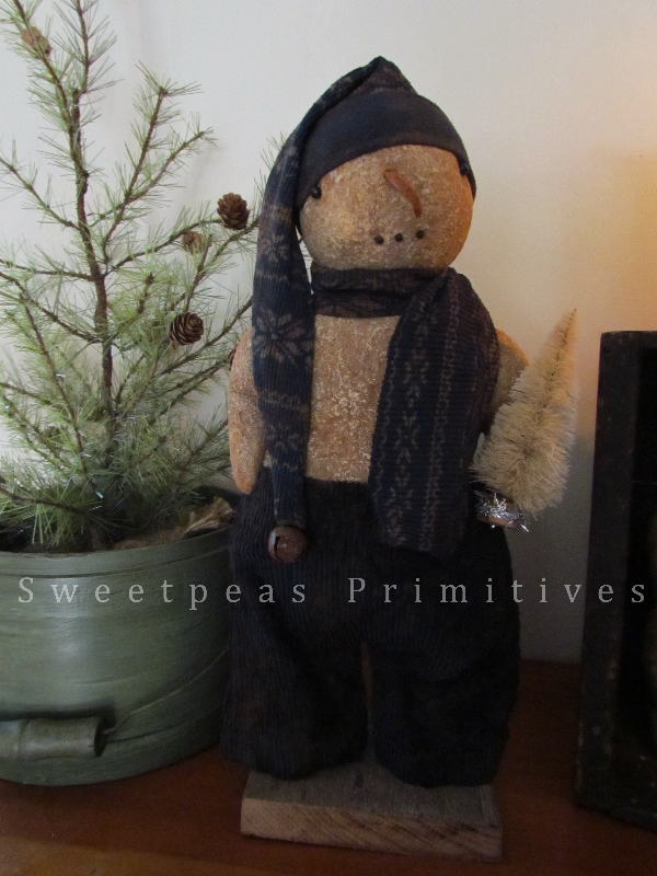 Obsessed image pertaining to free printable primitive snowman patterns