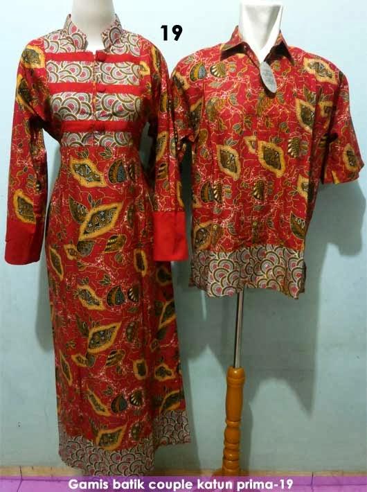 Baju batik couple sarimbit atau pasangan