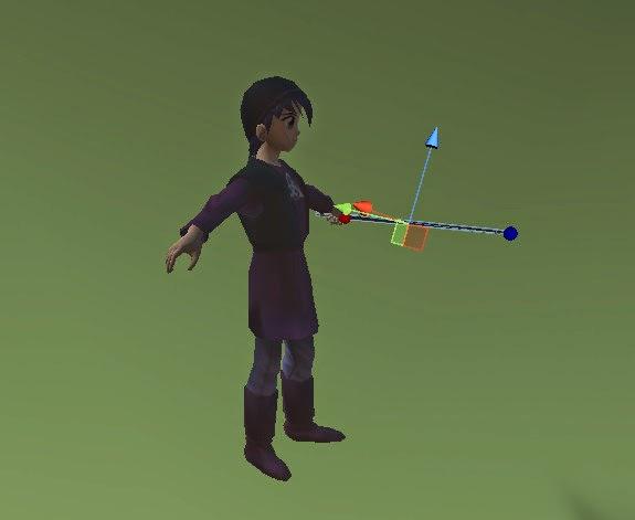 Espada separada del cuerpo