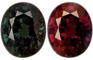Color Change Garnet gemstone.