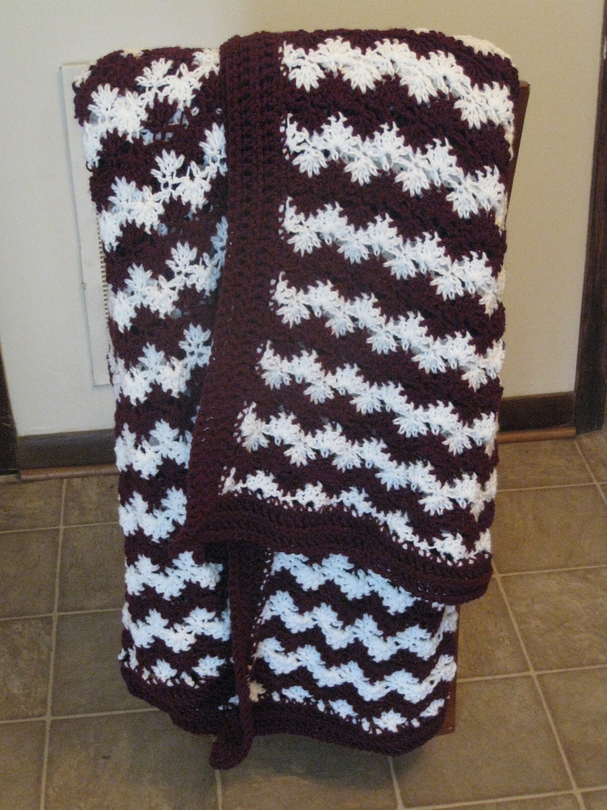 Engineered Crochet: 12th Man Blanket