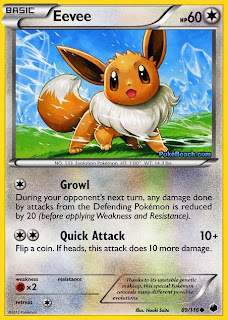 Eevee Plasma Freeze Pokemon Card