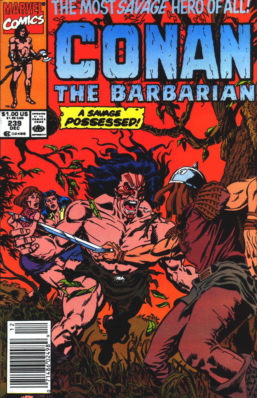 Conan the Barbarian (1970) Issue #239 #251 - English 1