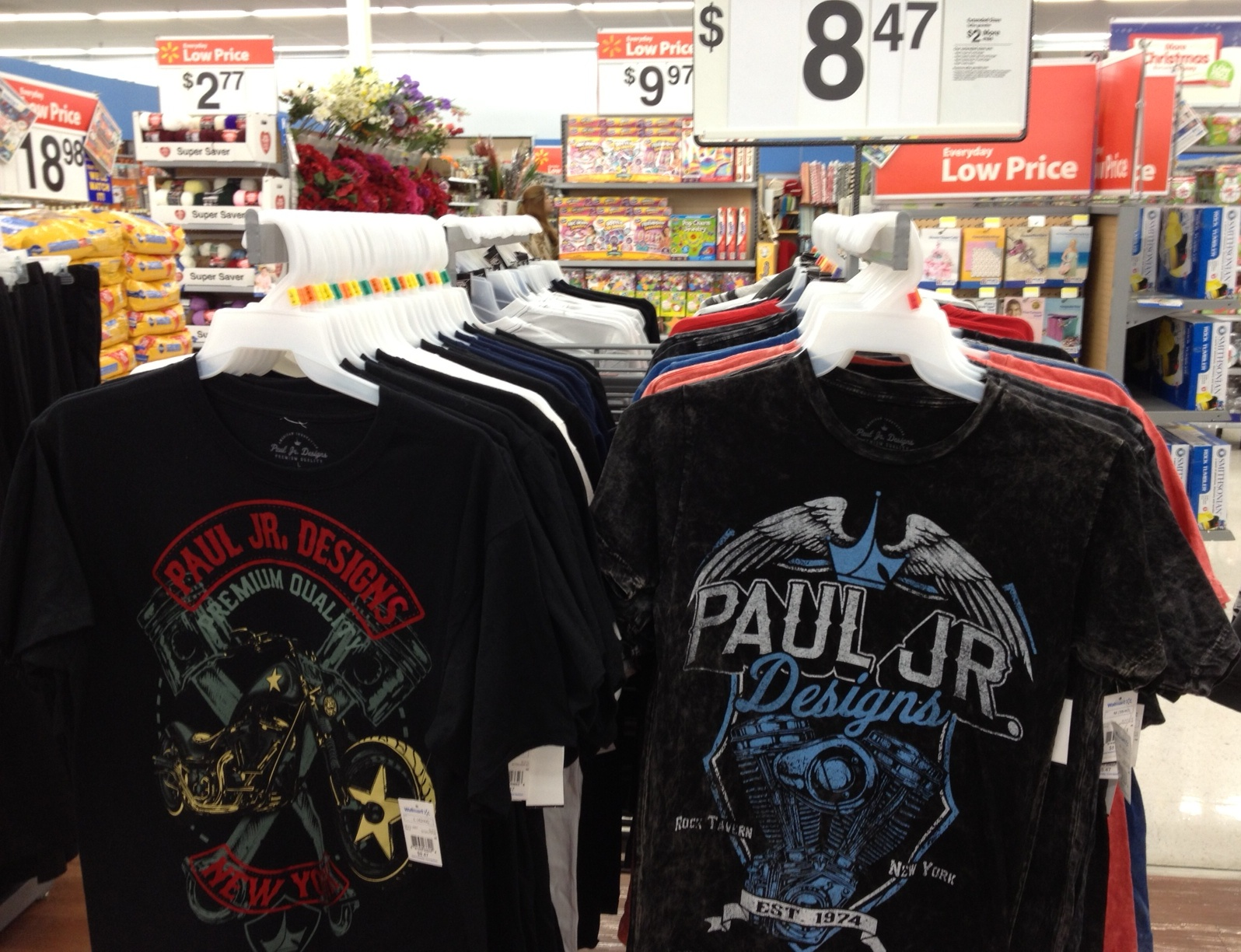 Paul Jr Designs Shirts Now at Walmart Stores