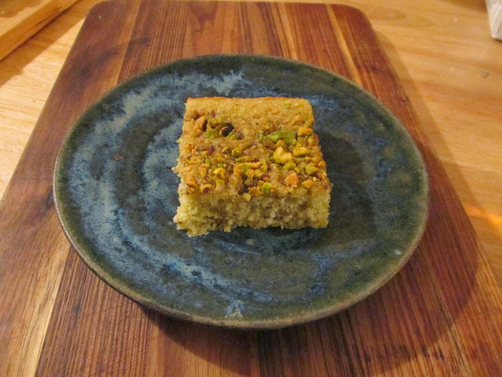 Mystery Lovers' Kitchen: Pistachio Cake