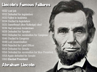 Lincoln's Famous Failures