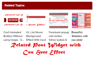 related post widget