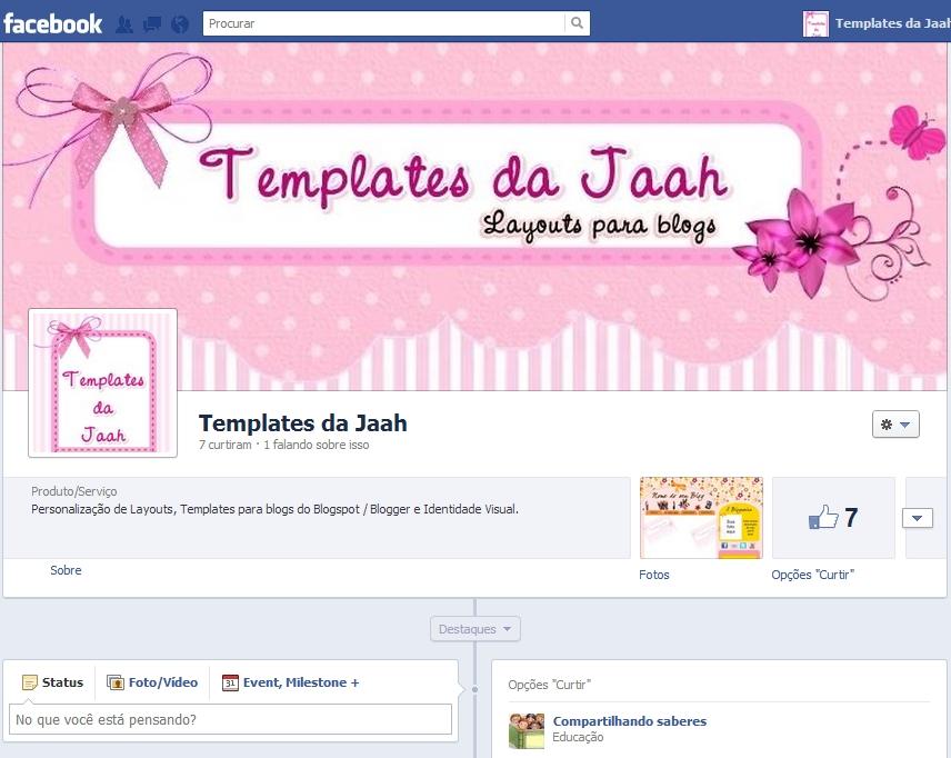 Capa personalizada para facebook