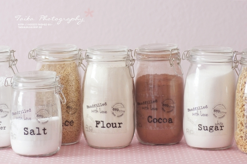 diy kitchen jars nicest things food interior diy diy kitchen jars. Black Bedroom Furniture Sets. Home Design Ideas