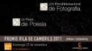 Premis 'Vila de Cambrils' 2011