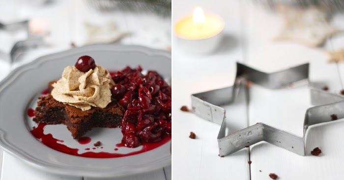 magnoliaelectric a very merry christmasguestpost yummy friday brownie mit spekulatius. Black Bedroom Furniture Sets. Home Design Ideas