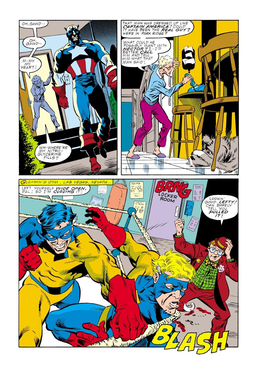 Captain America (1968) Issue #347 #277 - English 4