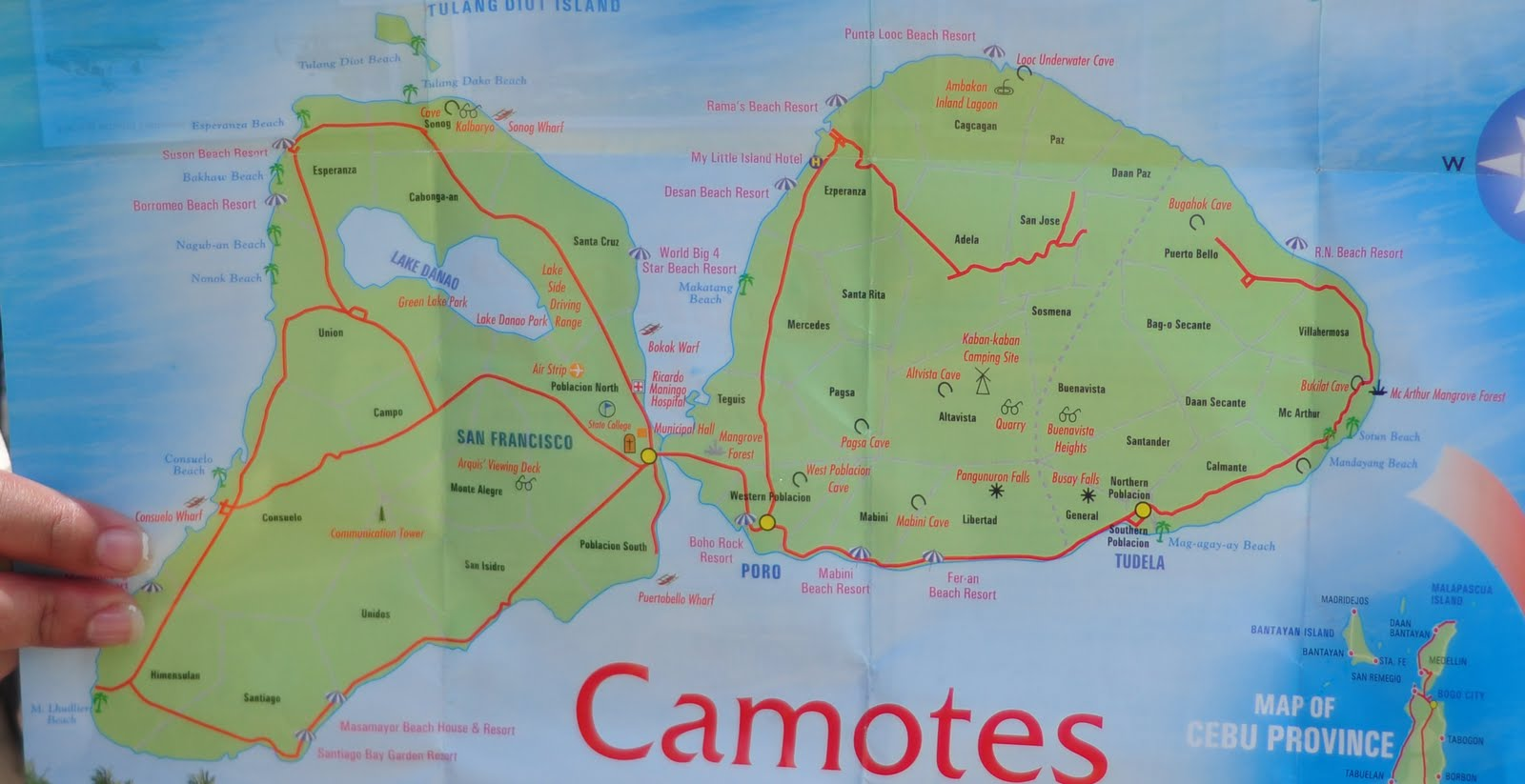 Camotes Islands Philippines  City pictures : map of camotes camotes islands located at northeast visayas famous of ...