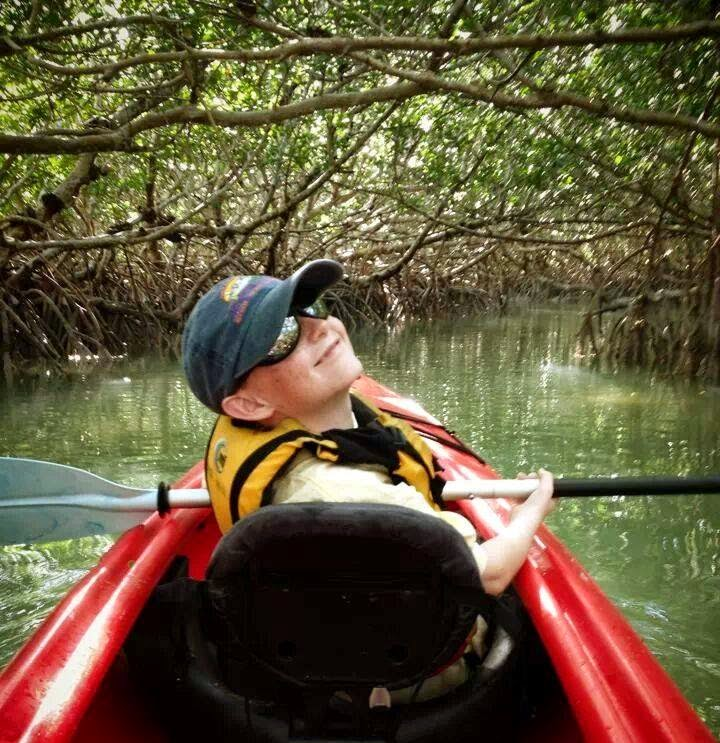 Kayaking at Robbie's Marina Islamorada Florida Keys