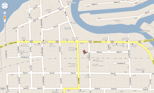 Click on the map for directions to Main Street Vermilion and Harbour Town