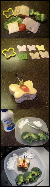 lunchbox, kids school lunch, creative lunches, kids, lunch, kids food,Butterfly lunch, fun easy lunch for kids