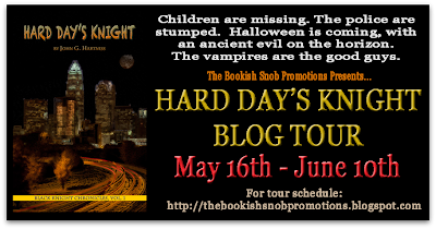 Hard Day's Knight Blog Tour: Guest Post with John Hartness & Giveaway